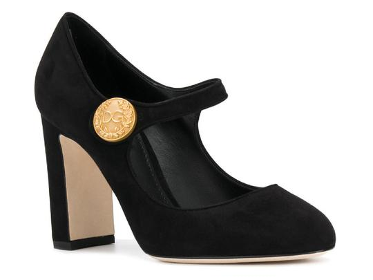 Preload https://img-static.tradesy.com/item/23917196/dolce-and-gabbana-mary-in-black-suede-leather-pumps-size-us-8-regular-m-b-0-0-540-540.jpg