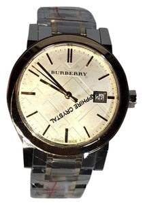 Burberry Burberry Two Tone Silver/Gold Watch BU9115