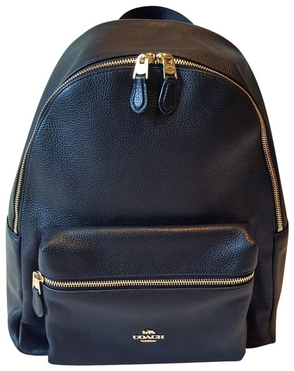 Preload https://img-static.tradesy.com/item/23917241/coach-new-black-leather-backpack-0-1-540-540.jpg