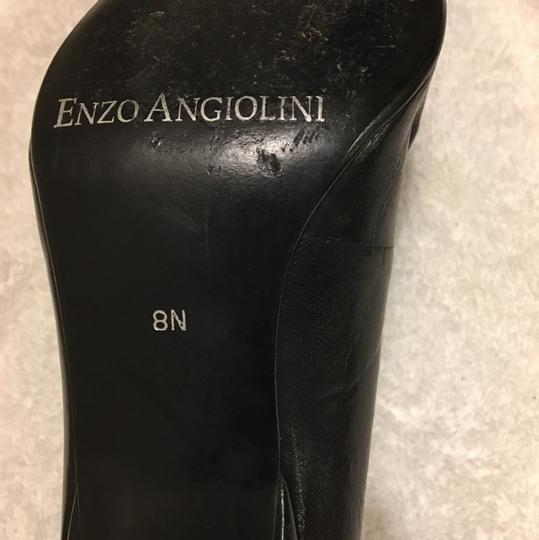Enzo Angiolini Black Pumps