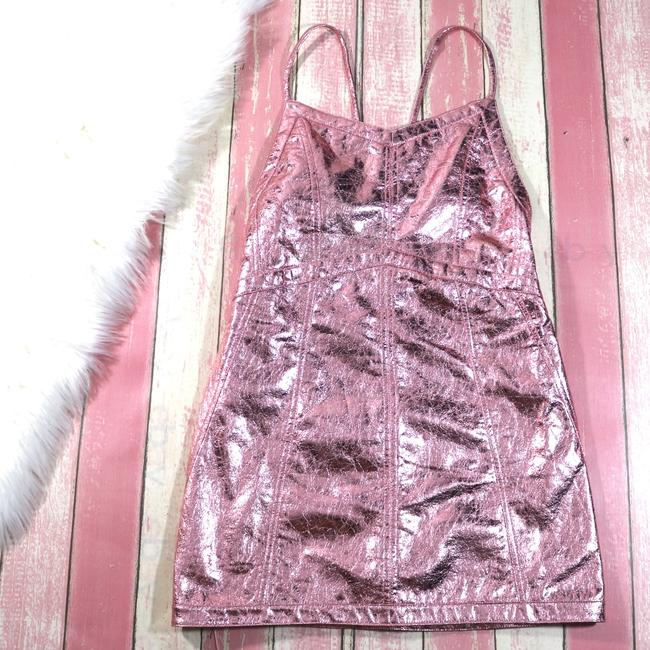 For Love & Lemons Metallic Party Dress
