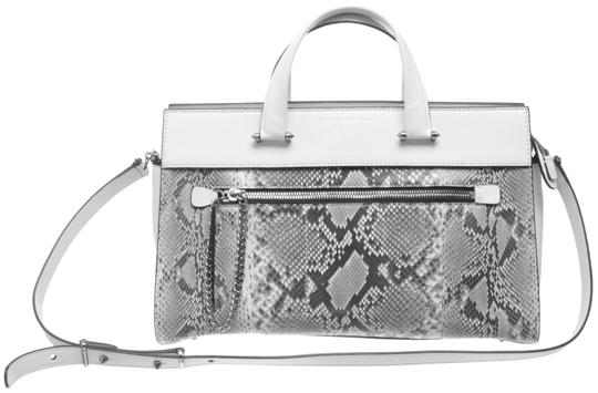 Preload https://img-static.tradesy.com/item/23917292/barbara-bui-watersnake-let-it-484979-white-and-gray-leather-satchel-0-1-540-540.jpg