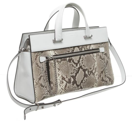 Barbara Bui Satchel in White and Gray