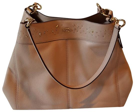 Preload https://item5.tradesy.com/images/coach-with-tag-retail-light-pink-leather-tote-23917339-0-1.jpg?width=440&height=440