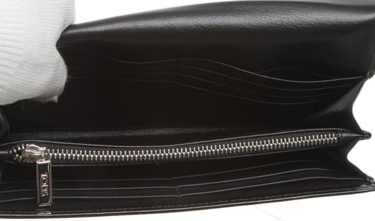 Tod's Tod's Black Patent Leather Wallet 484134