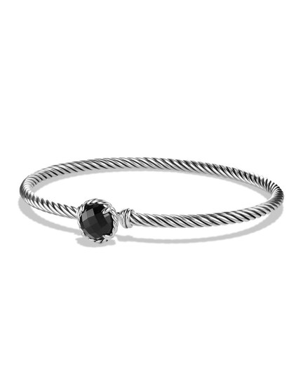 Preload https://img-static.tradesy.com/item/23917371/david-yurman-silver-black-sterling-chatelaine-bracelet-0-1-540-540.jpg