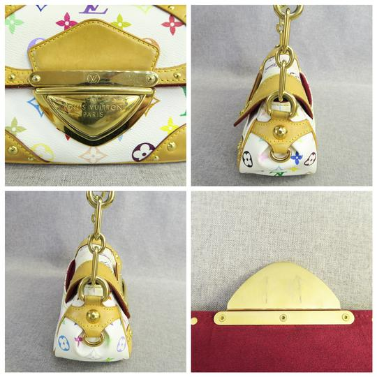 Louis Vuitton Marilyn Shoulder Canvas White & Multicolor Beach Bag