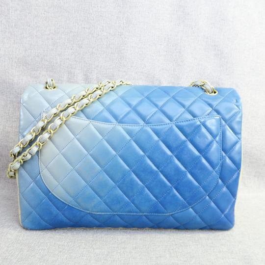 Chanel Maxi Lambskin Leather Gradual Shoulder Bag