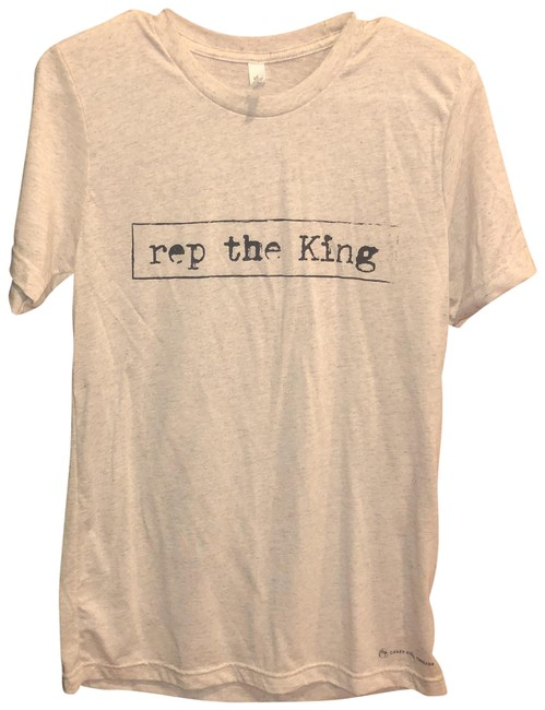 Preload https://item3.tradesy.com/images/off-white-rep-the-king-tee-shirt-size-4-s-23917432-0-1.jpg?width=400&height=650
