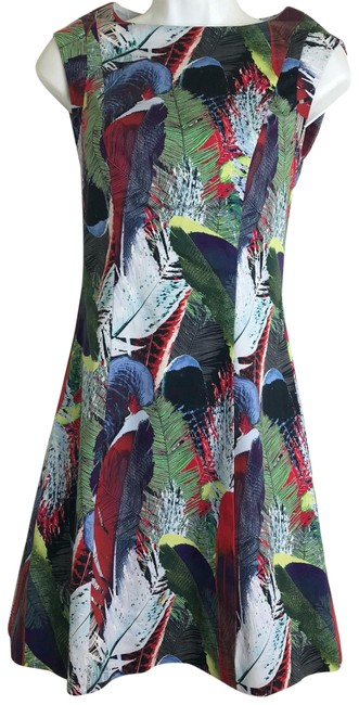 Preload https://img-static.tradesy.com/item/23917475/reiss-ottoline-jungle-short-cocktail-dress-size-0-xs-0-1-650-650.jpg