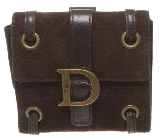Preload https://item1.tradesy.com/images/dior-brown-suede-cannage-bi-fold-483733-wallet-23917480-0-0.jpg?width=440&height=440