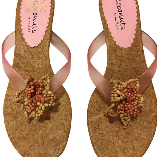 Preload https://item5.tradesy.com/images/coconuts-by-matisse-pink-and-tan-sandals-size-us-10-regular-m-b-23917484-0-1.jpg?width=440&height=440