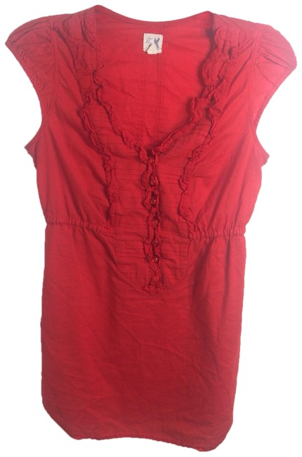 Preload https://img-static.tradesy.com/item/23917489/anthropologie-red-edme-and-esyllte-blouse-size-2-xs-0-1-650-650.jpg