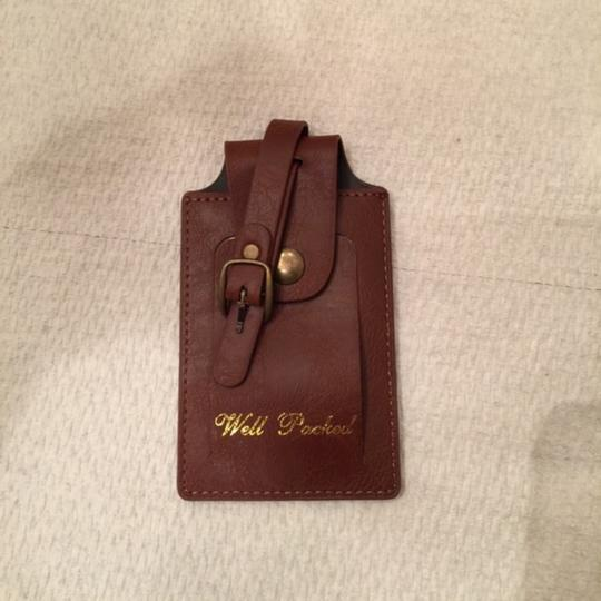 Ted Baker Ted Baker leather luggage patch