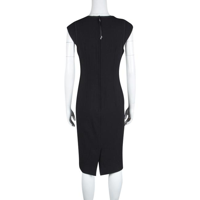 Dolce&Gabbana short dress Black Wool on Tradesy