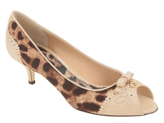 Preload https://item1.tradesy.com/images/dolce-and-gabbana-open-in-beige-leather-and-fabric-pumps-size-us-75-regular-m-b-23917545-0-0.jpg?width=440&height=440