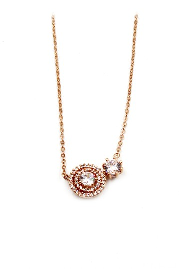 Preload https://img-static.tradesy.com/item/23917551/rose-gold-crystal-pendant-necklace-0-0-540-540.jpg