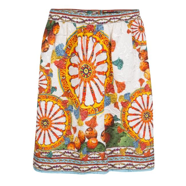 Dolce&Gabbana Mini Skirt Multicolor
