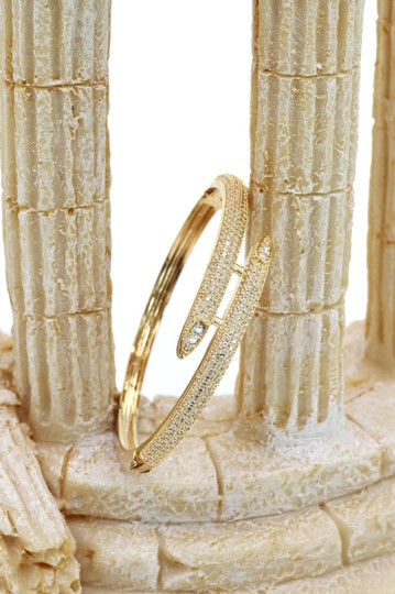 Ocean Fashion Gold Noble micro-crystal inlay bracelet