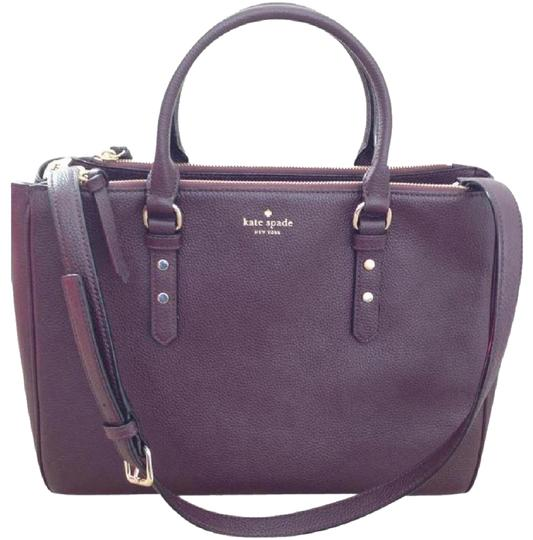 Preload https://img-static.tradesy.com/item/23917603/kate-spade-10off-mahogany-mulberry-street-leighann-brown-leather-tote-0-1-540-540.jpg