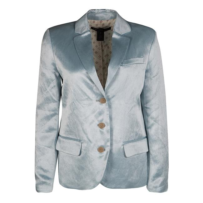 Preload https://img-static.tradesy.com/item/23917643/marc-by-marc-jacobs-blue-stormy-sky-cosmo-satin-blazer-size-2-xs-0-0-650-650.jpg