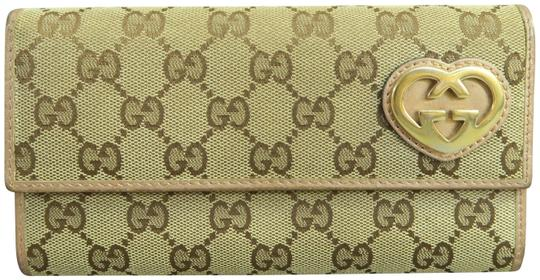 Preload https://item1.tradesy.com/images/gucci-brown-guccissima-continental-wallet-23917685-0-2.jpg?width=440&height=440