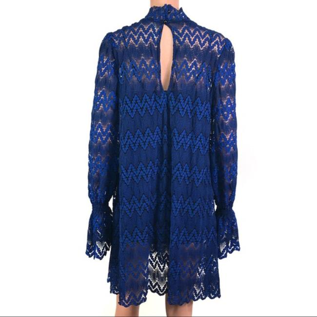 Free People short dress Blue/Black on Tradesy