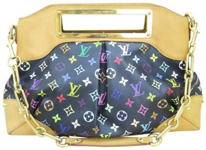 Louis Vuitton Lv Judy Satchel in Black