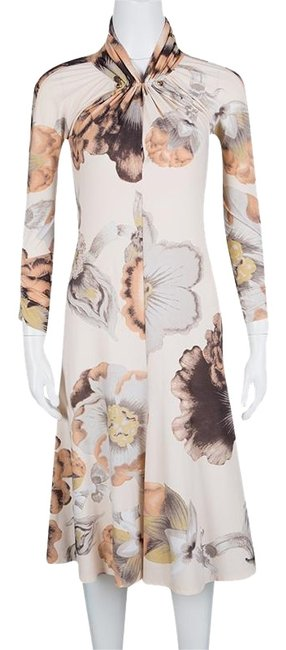Preload https://item5.tradesy.com/images/roberto-cavalli-multicolor-floral-print-gathered-long-sleeve-mid-length-short-casual-dress-size-10-m-23917759-0-1.jpg?width=400&height=650