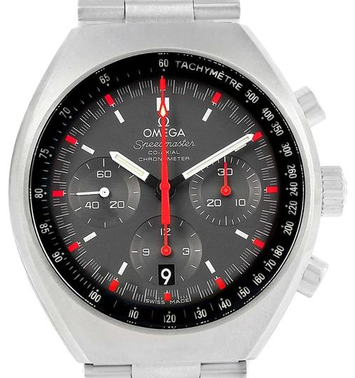Preload https://item1.tradesy.com/images/omega-grey-speedmaster-mark-ii-chrono-32710435006001-box-card-watch-23917765-0-1.jpg?width=440&height=440