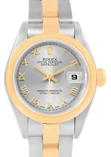 Preload https://img-static.tradesy.com/item/23917768/rolex-slate-datejust-steel-yellow-gold-ladies-79163-box-papers-watch-0-1-540-540.jpg