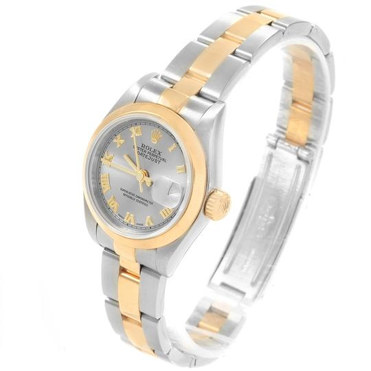 Rolex Rolex Datejust Steel Yellow Gold Ladies Watch 79163 Box Papers