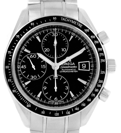 Preload https://img-static.tradesy.com/item/23917790/omega-black-speedmaster-chronograph-steel-mens-32105000-box-card-watch-0-1-540-540.jpg