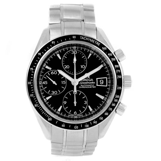 Omega Omega Speedmaster Chronograph Steel Mens Watch 3210.50.00 Box Card
