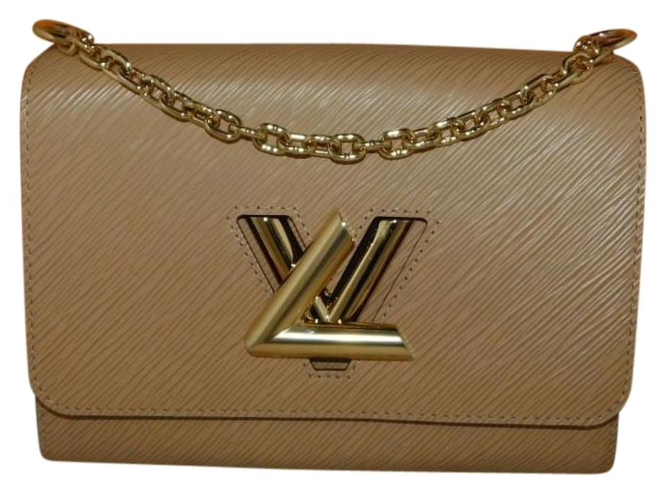 Louis Vuitton Twist Mm Epi Beige Leather Shoulder Bag - Tradesy 47e147fb61829