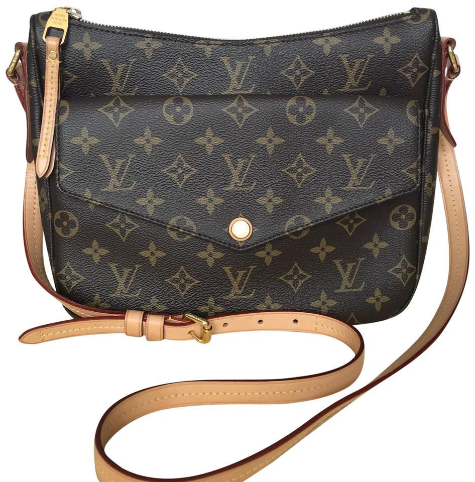 9e5477114373 Louis Vuitton Mabillon Monogram Brown Canvas with Leather Messenger ...