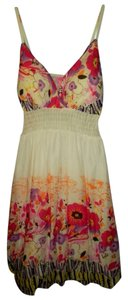 She's Cool short dress White/Floral Floral Spring on Tradesy