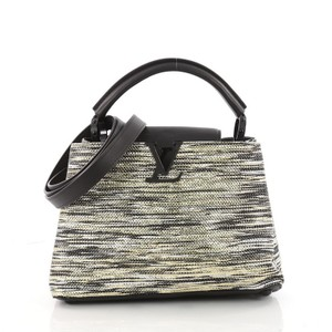 Louis Vuitton Limited Edition Satchel in gold, silver