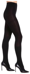 Yummie By Heather Thomson BLACK FLEECE LINED PLUSH CUSHIONED OPAQUE BOOT TIGHTS