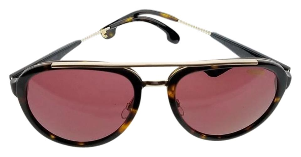 896158241a Carrera Tortoise Frame 132-s-2ik-w6-57 Unisex Red Lens Polarized Sunglasses