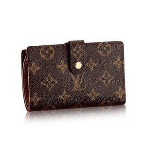 3b61702aa90a0 Louis Vuitton French Monogram Canvas Kisslock Biofold Wallet France