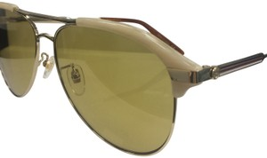 Gucci Gucci Men's GG 0288Sa Fashion Pilot Sunglasses