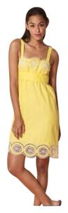 Alloy short dress Yellow on Tradesy