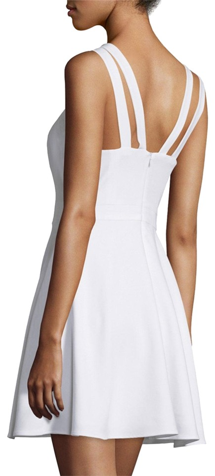 9afb4b8d73a French Connection White Whisper Light Sleeveless Strappy Fit-and-flare  Casual Dress
