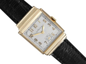 Tiffany & Co. 1940's Tiffany & Co. by IWC Vintage Watch with Cresarrow Case - 14K Go
