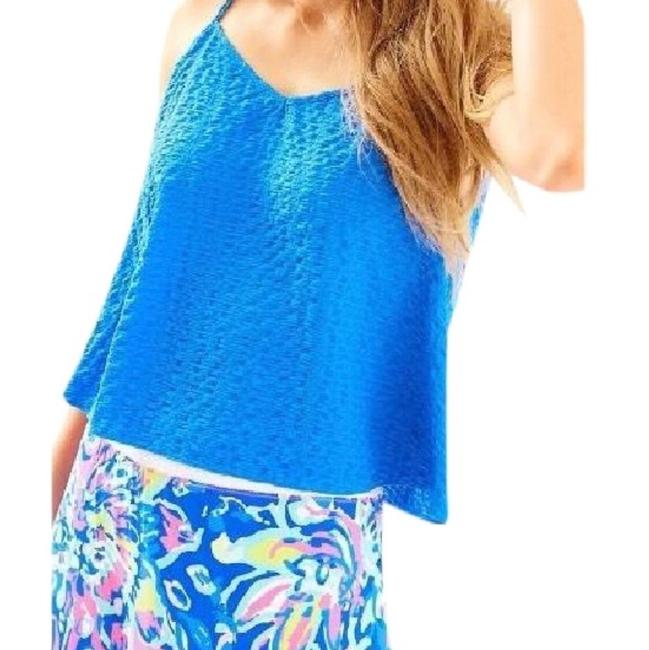 Lilly Pulitzer Top Blue Image 1