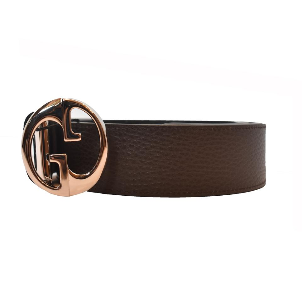 2008cf27608 Gucci Gucci Belt Reversible Brown and Black 449715 Size 105  42 Image 0 ...