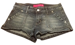 Denim Shorts-Medium Wash
