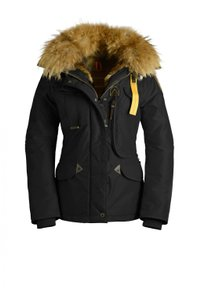 Parajumpers Fur Warm Fitted Coat