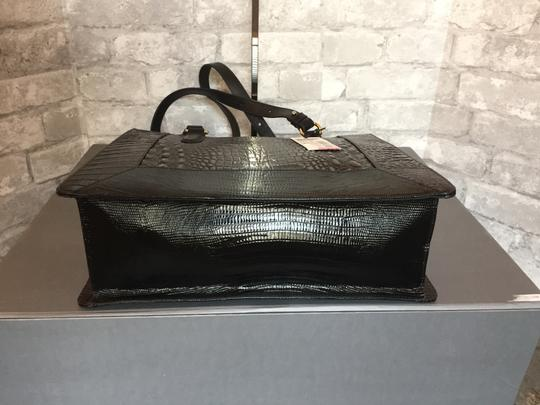 Brahmin Tote in brown, grey, metallic Image 4